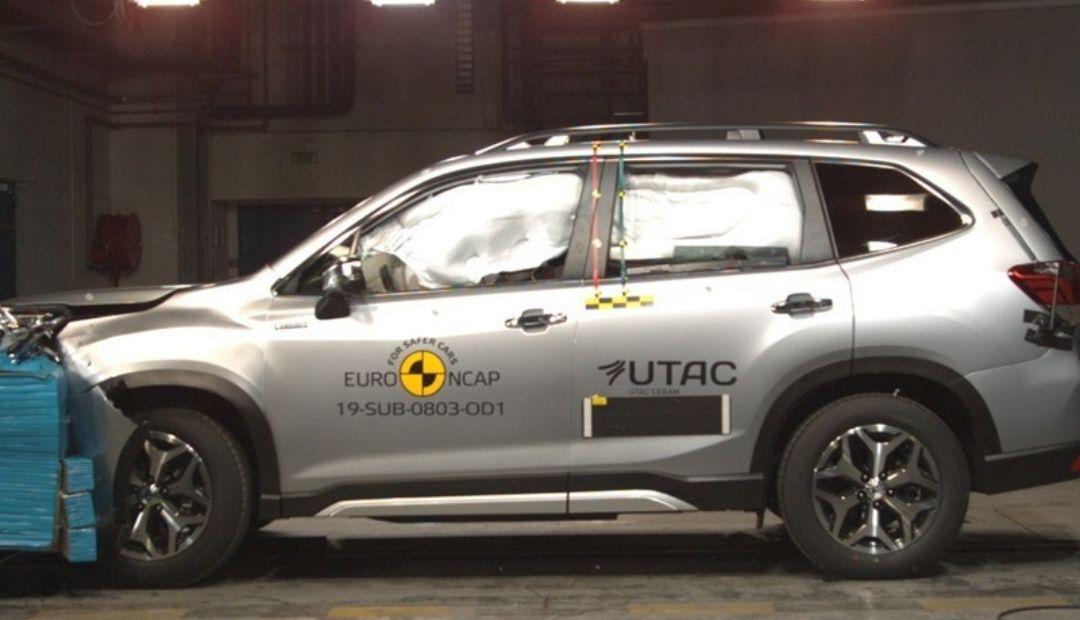 Subaru Forester sa pýši titulom Najbezpečnejšie auto podľa Euro NCAP v kategórii SUV